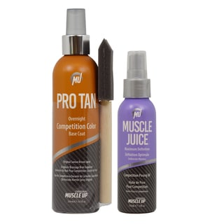 Pro Tan Overnight Competition Color and Posing Oil Set