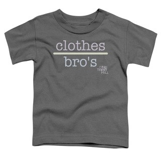 One Tree Hill/Clothes Over Bros 2 Short Sleeve Toddler Tee in Charcoal
