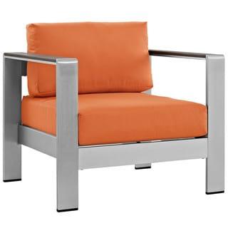 Beach Aluminum Outdoor Patio Armchair