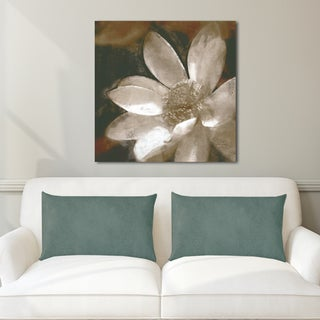 Portfolio Canvas Decor 'Bronze Lily 1 Grey' by Noah Bay Wrapped Canvas Ready-to-hang Wall Art Print