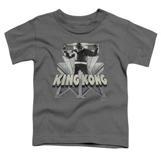 King Kong/8Th Wonder Short Sleeve Toddler Tee in Charcoal