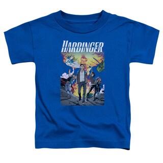 Harbinger/Foot Forward Short Sleeve Toddler Tee in Royal Blue