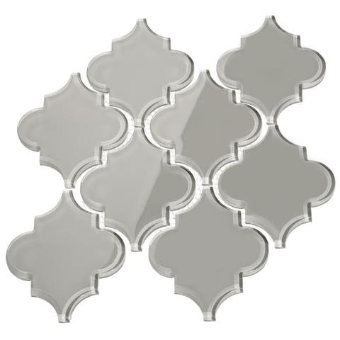 Arabesque Light Gray Tiles (7 Square Feet) (11 Sheets)