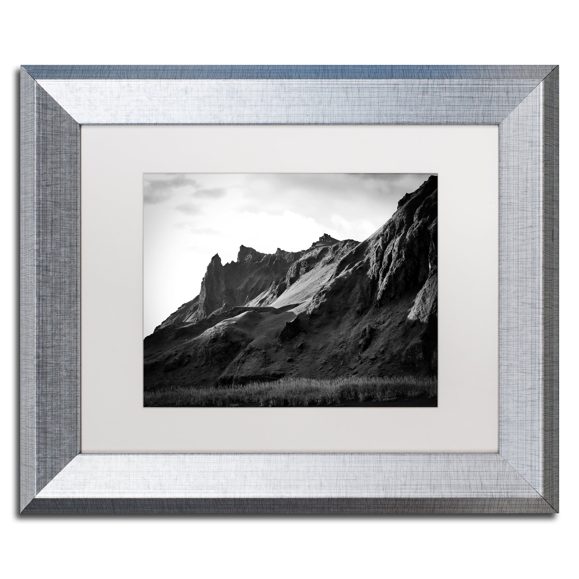 Shop Philippe Sainte Laudy Torn Mountains Matted Framed Art Overstock 12392219