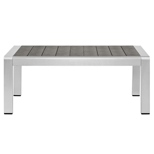 Aluminum Patio Coffee Table: Shop Beach Outdoor Patio Aluminum Coffee Table