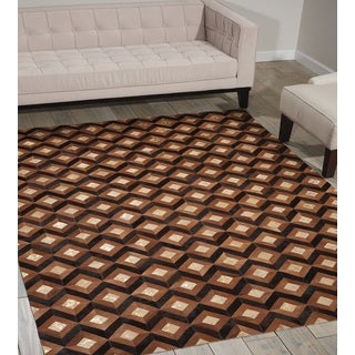 Nourison Leather Chestnut Area Rug (8' x 10')