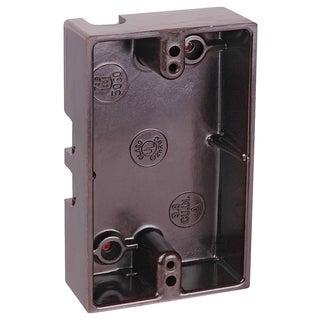 Thomas & Betts 5060-BRN Brown Single Gang Boxes