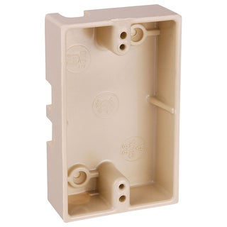 Thomas & Betts 5060-IV Ivory Single Gang Boxes