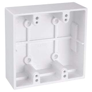 Thomas & Betts 5072-WH White Two Gang Boxes