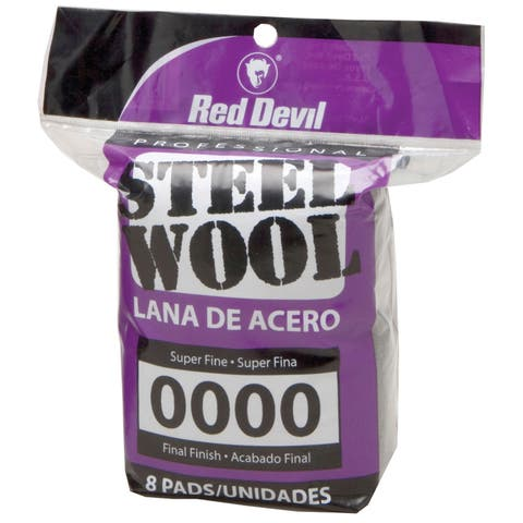 Red Devil 0320 #0000 Steel Wool 8 Pack