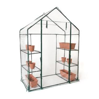 Trademark Innovations 6-shelf 3-tier Walk-in Greenhouse