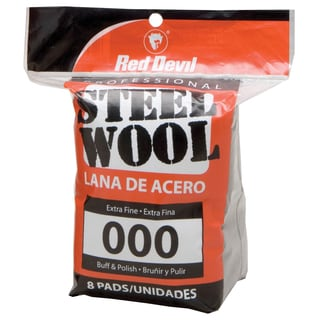 Red Devil 0321 #000 Steel Wool 8 Pack