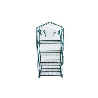 Trademark Innovations 4-shelf Mini-Greenhouse With Cover