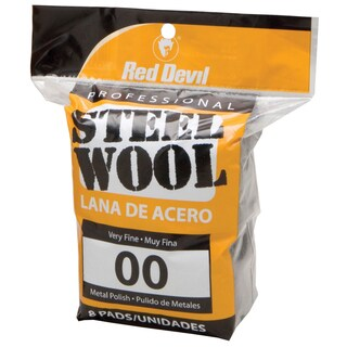 Red Devil 0322 #00 Steel Wool 8 Pack