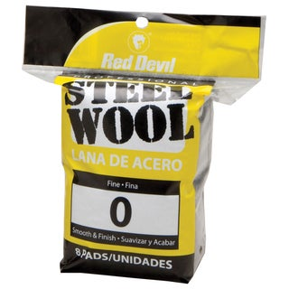 Red Devil 0323 #0 Steel Wool 8 Pack