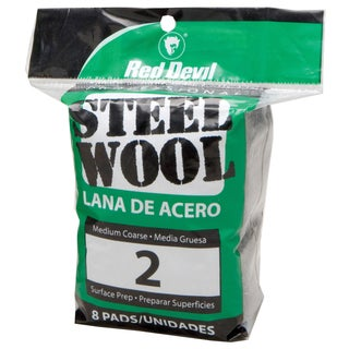 Red Devil 0325 #2 Steel Wool 8 Pack