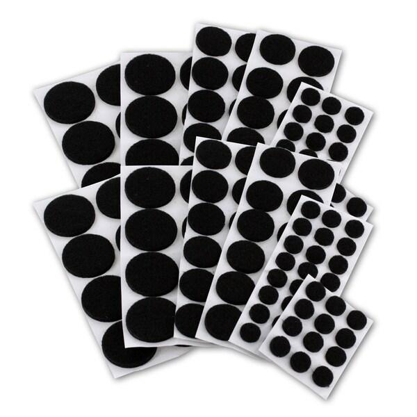 General Tools Junipers Black Felt Floor Protector Pads for Assorted Furniture
