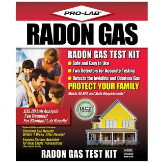 Pro Lab RA100 Do-It-Yourself Radon Gas Test Kit