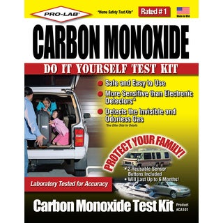 Pro Lab CA101 Carbon Monoxide Do It Yourself Test Kit