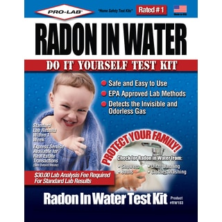 Pro Lab RW103 Radon In Water Do It Yourself Test Kit