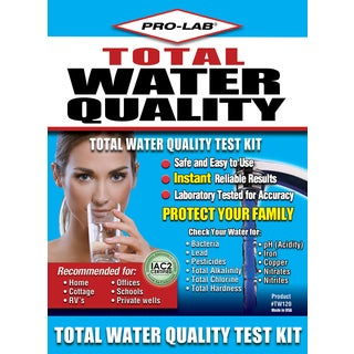 Pro Lab TW120 Total Water Quality Test Kit