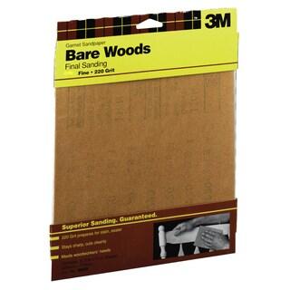 """3M 9036NA 9"""" X 11"""" Fine Bare Woods Sandpaper"""