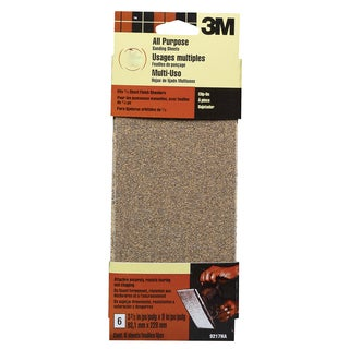 3M 9219NA Assorted Finishing Sanding Sheets 6-count