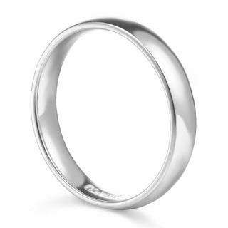 14k Yellow or White Gold Standard Fit Men and Women's 5 mm Wedding Band