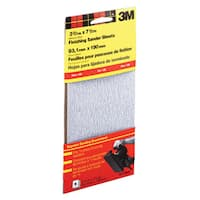 3M 9112DC-NA Fine Finishing Sander Sheets Adhesive Back