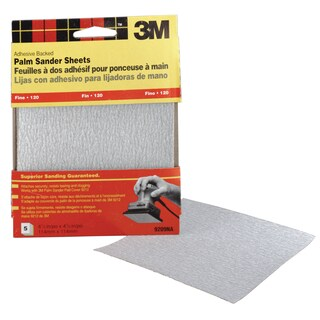 3M 9209DC-NA Fine Grit Adhesive Backed Palm Sander Sheets