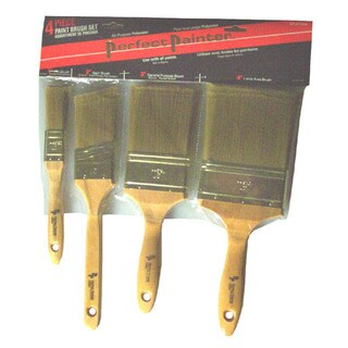 Gam BP01144 Perfect Painter 4 Piece Paint Brush Set
