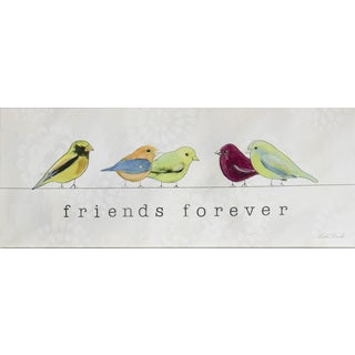 Boston Warehouse 'Friends Forever' 8-inch x 20-inch Canvas Art