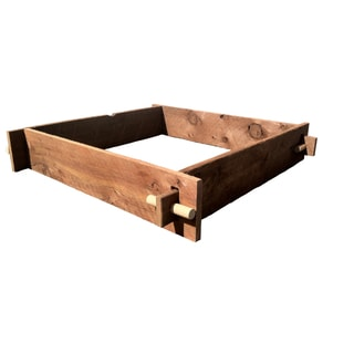 Mill Direct Red Wood Raised Garden Bed