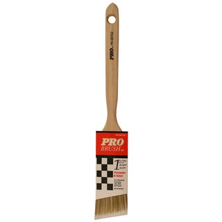 "Gam PR00762 1-1/2"" Pro Brush Angle Sash Polyester & Nylon Paint Brush"