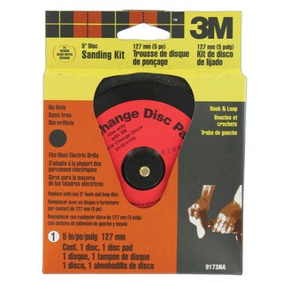 "3M 9173DC-NA 5"" Hook & Loop Sanding Kit"