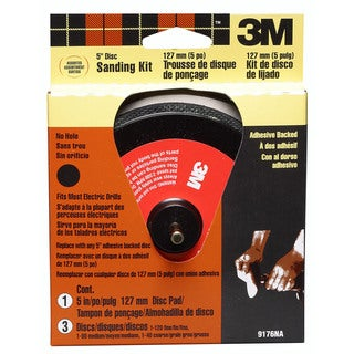 "3M 9176NA 5"" 3M Stikit Sanding Kit"