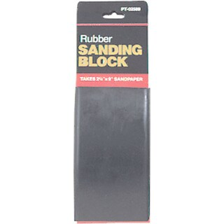 Gam PT02589 Nail-Less Rubber Sanding Block