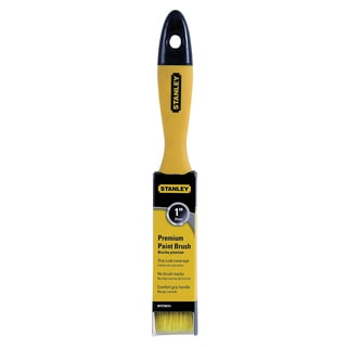 "Stanley BPST00751 1"" Beavertail Flat Poly Premium Paint Brush"