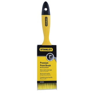 "Stanley BPST00753 2"" Beavertail Flat Poly Premium Paint Brush"