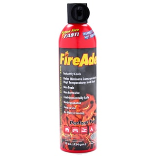 FireAde 16-FA2K-PDQ-12 16-ounce Aerosol Extinguisher