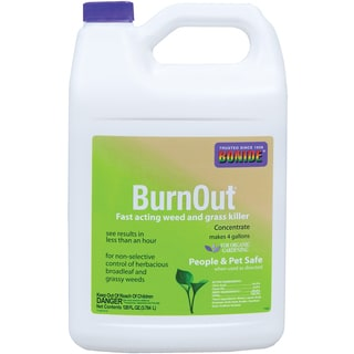Bonide 7465 1 Gallon BurnOut Weed & Grass Killer Concentrate