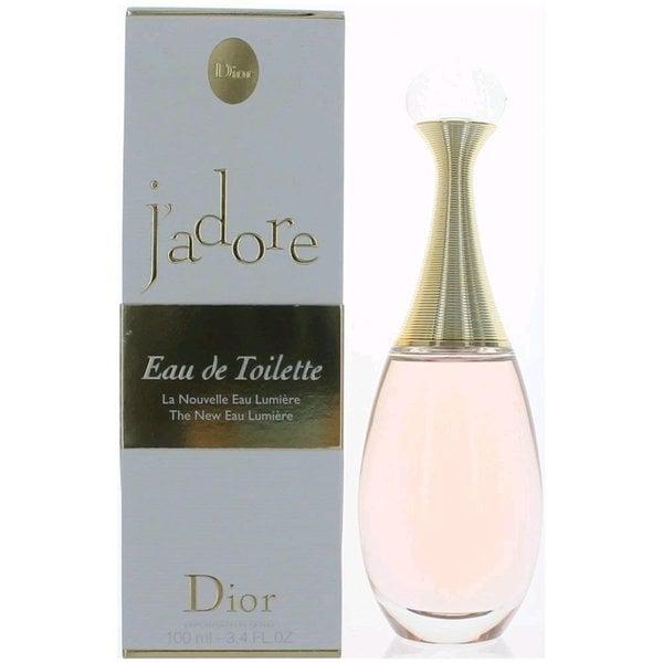 What Does J Adore Perfume Smell Like: Shop Dior J'adore Eau Lumiere Women's 3.3-ounce Eau De Toilette Spray