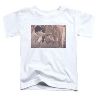 Rocky/Meat Locker Short Sleeve Toddler Tee in White