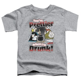 Hagar The Horrible/Pretty Short Sleeve Toddler Tee in Heather