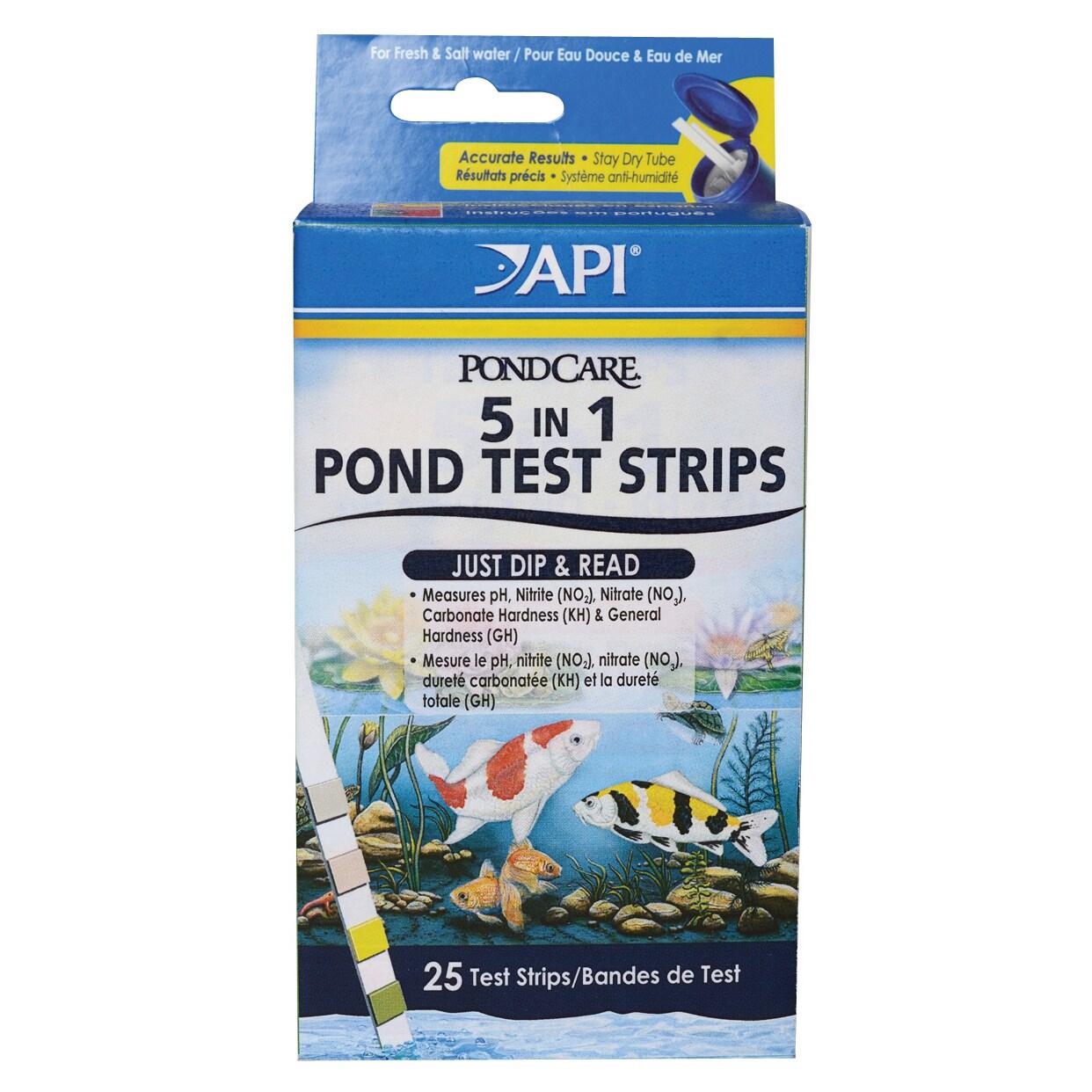 PondCare 164F 5-In-1 Test Strips (Pond & Water Garden Che...