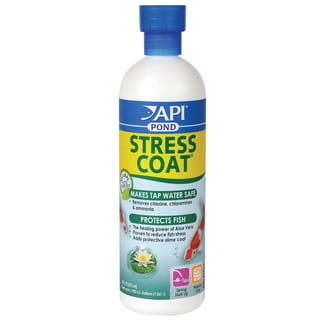 Pondcare 140B 16-ounce Stress Coat Fish & Water Conditioner