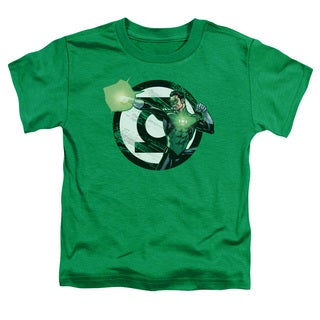 JLA/Blasting Logo Short Sleeve Toddler Tee in Kelly Green
