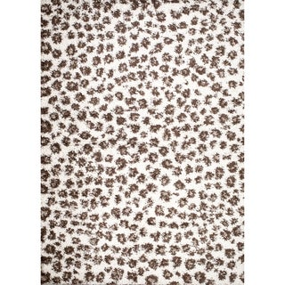 Mod Collection Safari Ivory Polypropylene Rug (3'3 x 4'7)