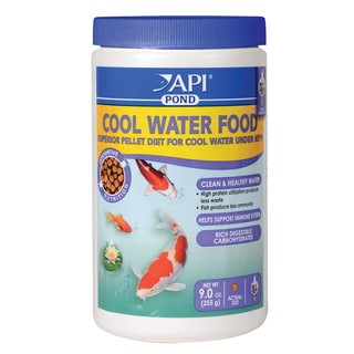 API Aquarium Pharmaceuticals Inc 197A 9-ounce Cool Water Pond Food