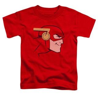 JLA/Cooke Head Short Sleeve Toddler Tee in Red